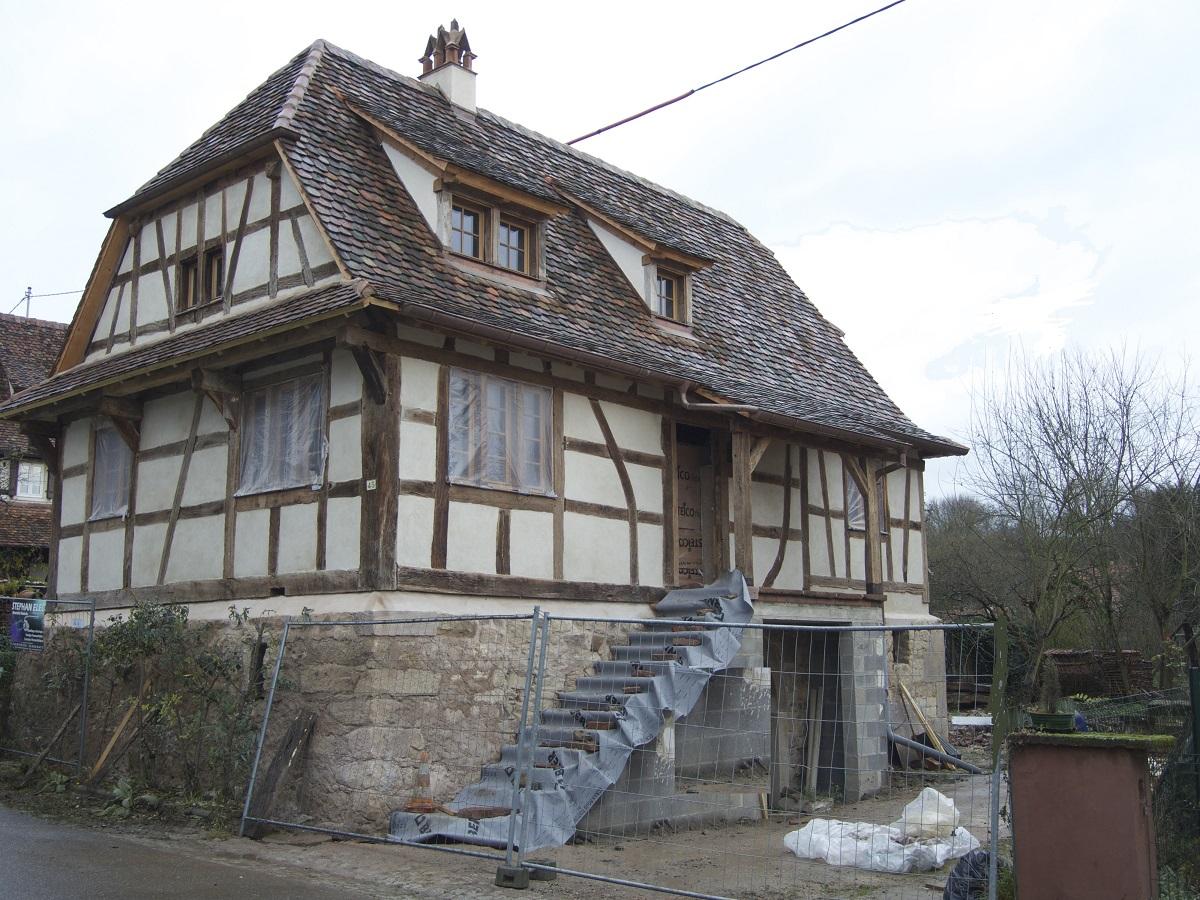 Birlenbach akta bvp bvp le b ton v g tal projet - Maison a colombage alsacienne ...