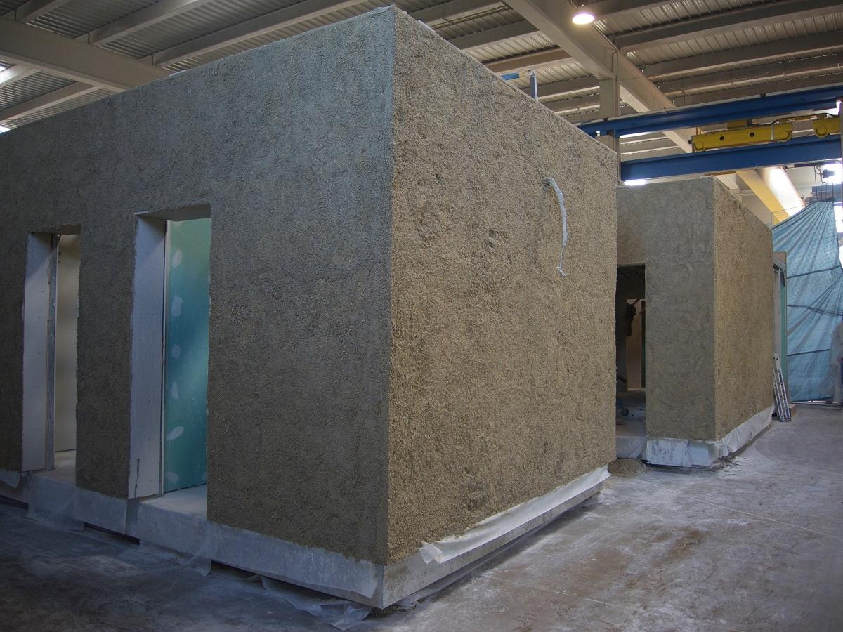 Maison modulaire en b v p syst me modulem toulouse 31 akta bvp bvp le b ton v g tal projet - Maison modulaire beton ...